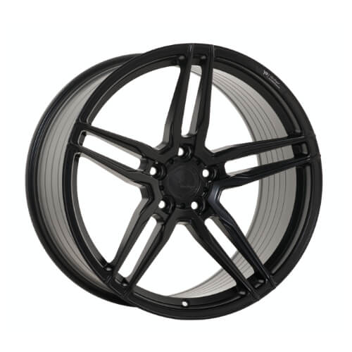 YIDO PERFORMANCE-FF1 FLOWFORGED MATT SCHWARZ SATIN
